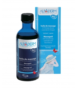 BIO-Massageöl Süssorange, Lavendel & Nachtkerze - 100ml - Alpaderm