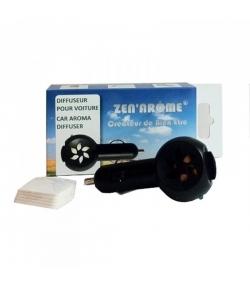 Diffuseur pour voiture d'huile essentielle sur prise allume-cigare - Zen Arôme