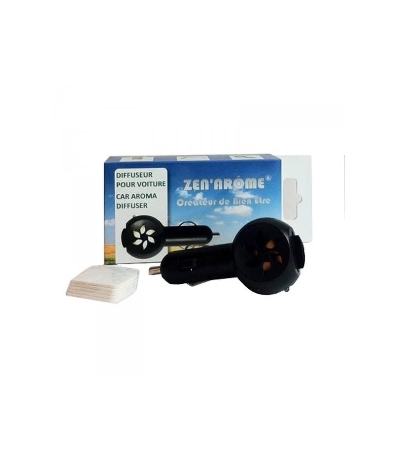 diffuseur pour voiture d 39 huile essentielle sur prise allume cigare zen ar me. Black Bedroom Furniture Sets. Home Design Ideas