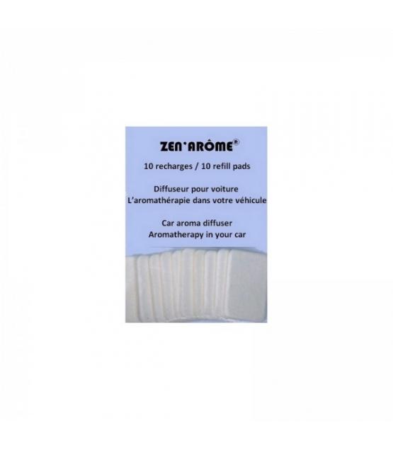 Filzpads für den Zerstäuber im Auto - 10 Stück - Zen Arôme