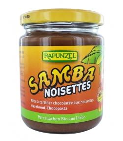 Crème chocolatée aux noisettes BIO – Samba – 250g – Rapunzel