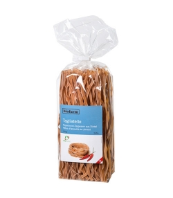 BIO-Dinkel-Peperoncini-Tagliatelle – 350g – Biofarm