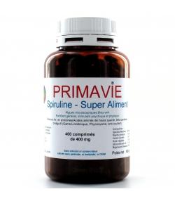 Natürliche Spirulina - 400 Tabletten - 400mg - D&A Laboratoire