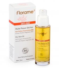 Huile anti-âge BIO peaux sèches - 30ml - Florame