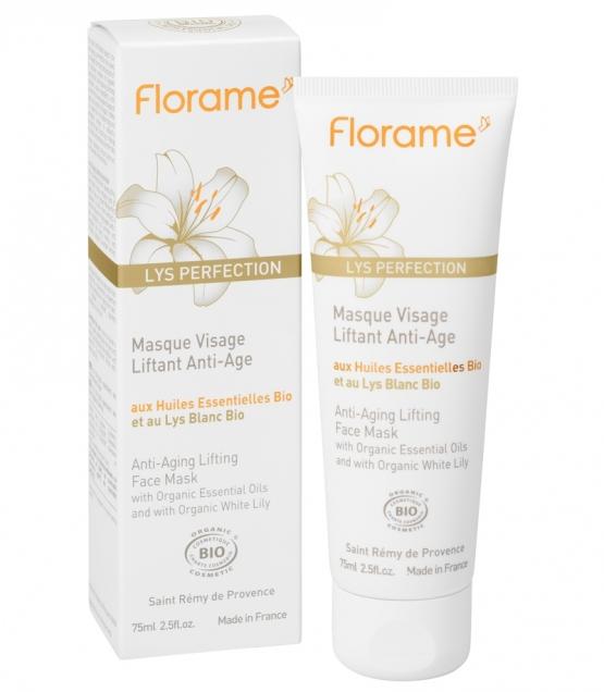 Masque visage liftant anti-âge BIO lys blanc - 65ml - Florame