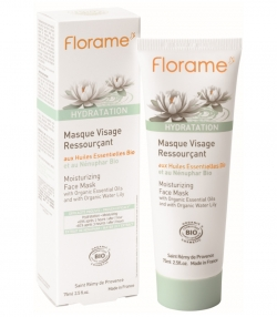 Wiederaufbauende BIO-Gesichtsmaske Seerose - 75ml - Florame