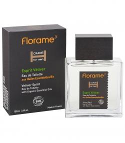BIO-Eau de Toilette für Männer Vetiver - 100ml - Florame