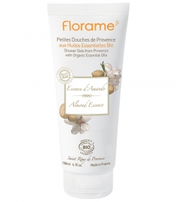 Gel douche BIO essence d'amande - 180ml - Florame