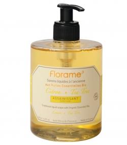 Klärende BIO-Flüssigseife Zitrone & Teebaum - 500ml - Florame