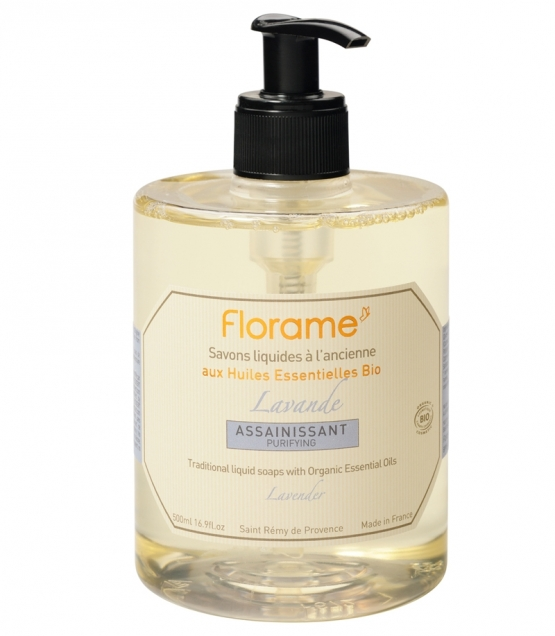 Savon liquide assainissant BIO lavande - 500ml - Florame