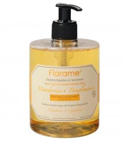 Erfrischende BIO-Flüssigseife Mandarine & Pampelmuse - 500ml - Florame