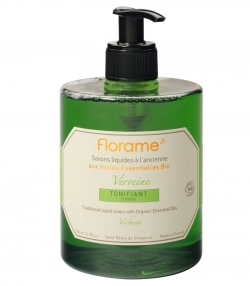 Savon liquide tonifiant BIO verveine - 500ml - Florame