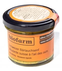 Schweizer BIO-Bärlauchsenf - 100g - Biofarm
