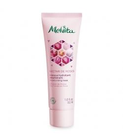 Masque hydratant désaltérant BIO rose - 50ml - Melvita Nectar de Roses