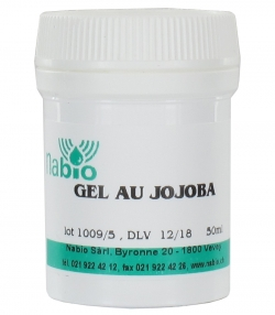Gel au jojoba naturel - 50ml - Nabio