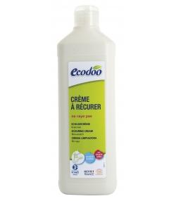 Crème à récurer écologique basilic BIO & menthe poivrée BIO - 500ml - Ecodoo