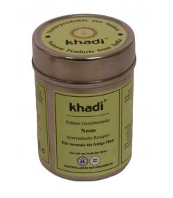 Masque visage ayurvédique naturel neem - 50g - Khadi