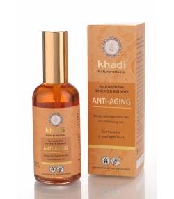 Anti-Aging Ayurvedisches BIO-Gesichts- & Körperöl Shatavari & Ashwagandha - 100ml - Khadi
