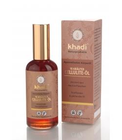 Huile anti-cellulite ayurvédique BIO 10 plantes - 100ml - Khadi