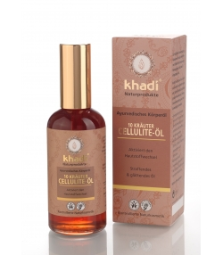 Ayurvedisches BIO-Cellulite-Körperöl 10 Kräuter - 100ml - Khadi