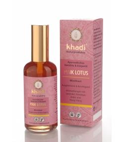 Ayurvedisches BIO-Gesichts- & Körperöl Pink Lotus - 100ml - Khadi
