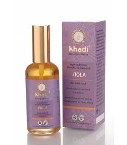Huile visage & corps ayurvédique BIO violette - 100ml - Khadi