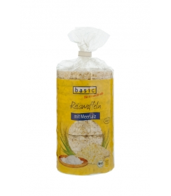 Galettes de riz salées BIO - 100g - Basic