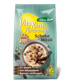 BIO-Amaranth-Müesli mit Zartbitterschokolade - 375g - Allos