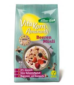 Muesli à l'amarante & aux fruits rouges BIO - 375g - Allos