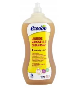 Liquide vaisselle écologique ultra dégraissant menthe BIO - 1l - Ecodoo