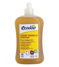 Liquide vaisselle écologique ultra dégraissant menthe BIO - 500ml - Ecodoo