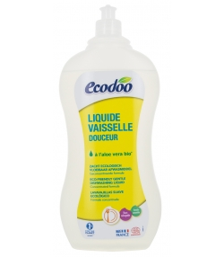 Liquide vaisselle écologique aloe vera & verveine - 1l - Ecodoo