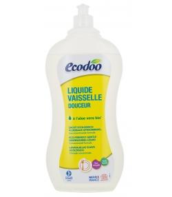 Ökologisches Handgeschirrspülmittel Aloe Vera & Eisenkraut - 1l - Ecodoo