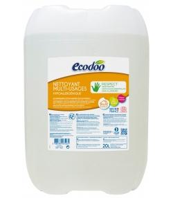 Nettoyant multi-usages hypoallergénique écologique sans parfum - 20l - Ecodoo