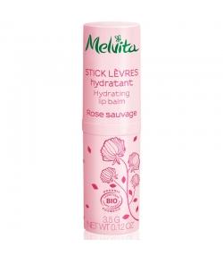 Stick lèvres hydratant BIO rose - 3,5g - Melvita Nectar de Roses
