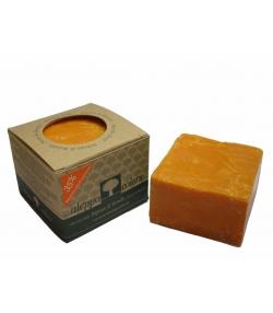 Savon de Mardin naturel 35% huile de pistache & bêta-carotène - 170g - Aleppo Colors