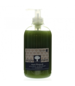 Savon d'Alep liquide naturel 25% huile de laurier - 500ml - Aleppo Colors