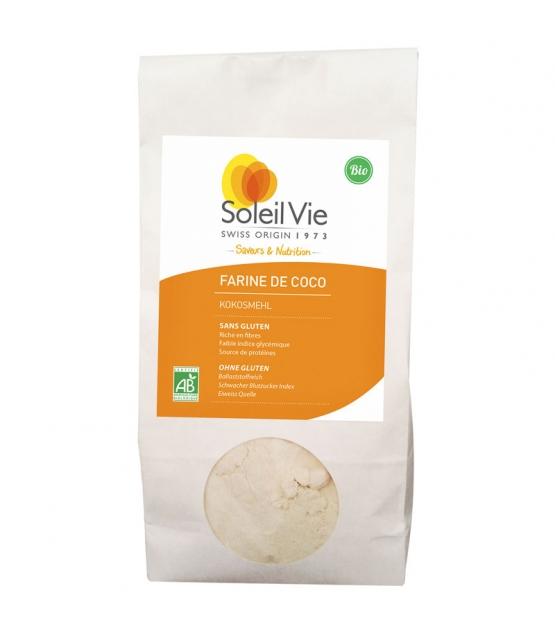 Farine de coco BIO - 400g - Soleil Vie