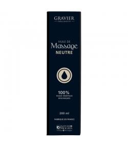BIO-Massageöl Neutral - 100ml - Laboratoire Gravier