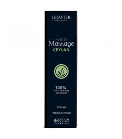 BIO-Massageöl Ceylan - 100ml - Laboratoire Gravier