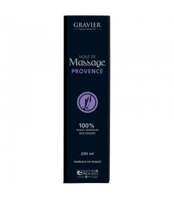 BIO-Massageöl Provence - 100ml - Laboratoire Gravier