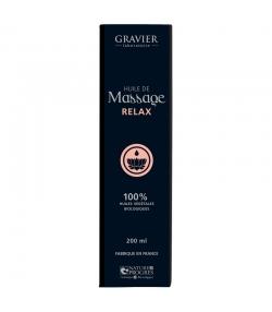 BIO-Massageöl Relax - 100ml - Laboratoire Gravier