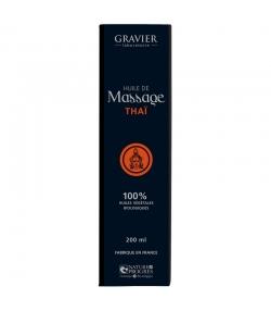 BIO-Massageöl Thai - 100ml - Laboratoire Gravier