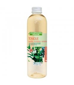 Belebendes BIO-Shampoo & Duschgel Minze, Eukalyptus & Eisenkraut - 250ml - Cosmo Naturel