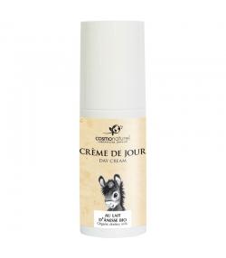 Crème de jour au lait d'ânesse BIO - 50ml - Cosmo Naturel