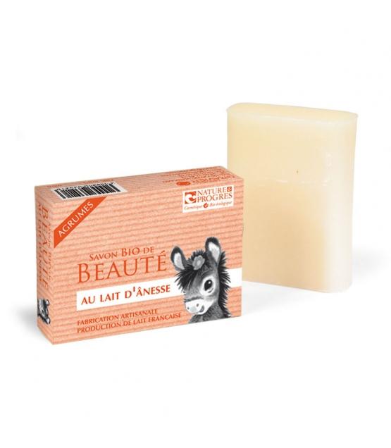 BIO-Seife mit Eselsmilch Zitrusfrüchte - 100g - Cosmo Naturel