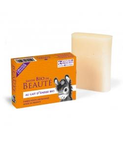 BIO-Seife mit Eselsmilch Orange & Lavendel - 100g - Cosmo Naturel