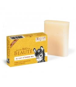 BIO-Seife mit Eselsmilch ohne Parfüm Honig - 100g - Cosmo Naturel