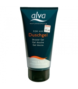 Shampooing douche homme naturel allantoïne & germe de blé - 175ml - Alva