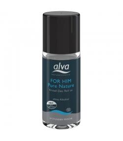 Déodorant à bille homme BIO pierre d'alun & aloe vera - 50ml - Alva Pure Nature